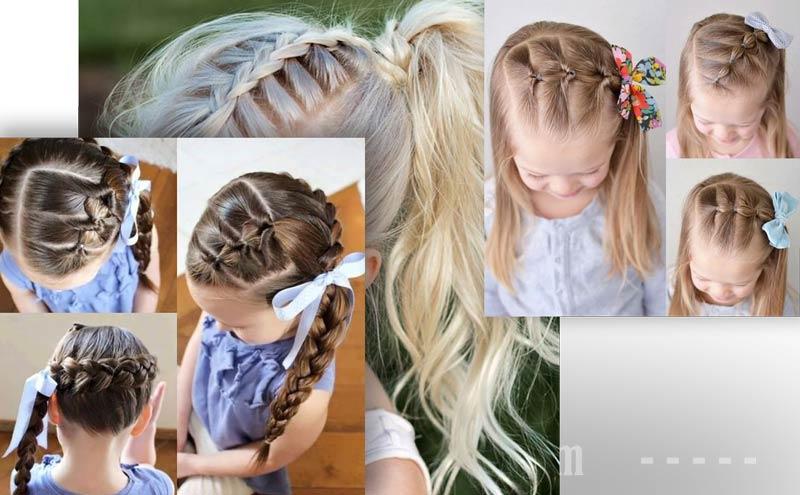 Фото: Девочка с косой