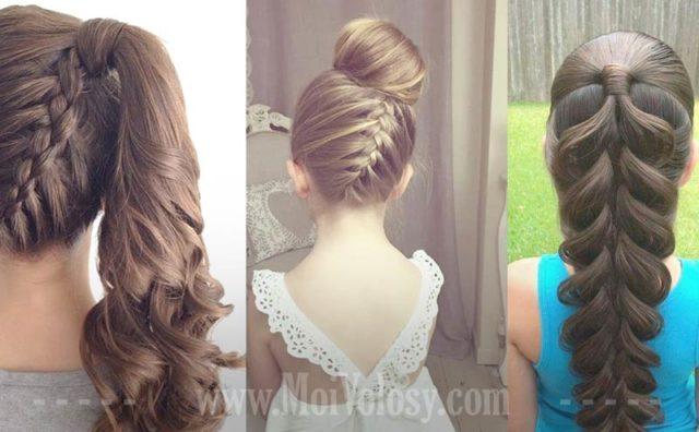 Фото: Плетение кос для девочек
