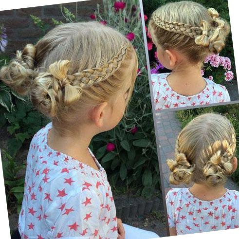Фото: Косички для волос девочек
