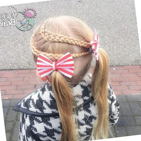 Фото: Красивые косички для девочек