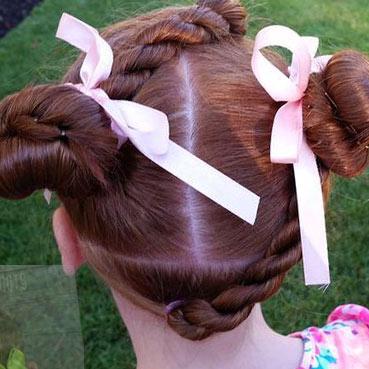 Фото: Красивые косички для девоч