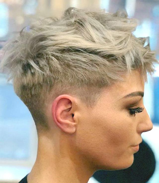 Фото: Стрижка пикси на короткие волосы