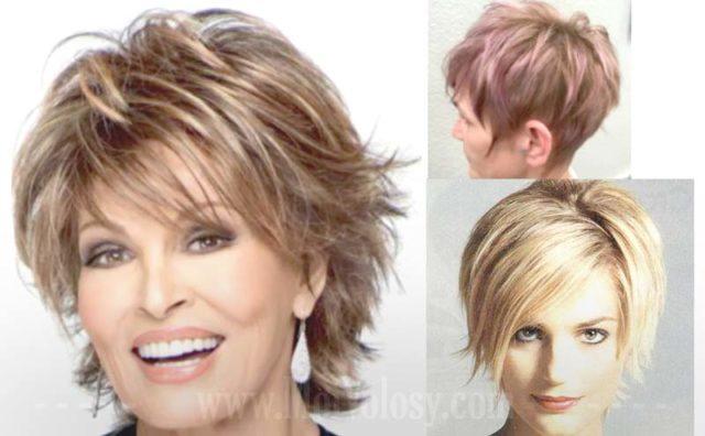 Фото: Пикси для женщин на средние волосы