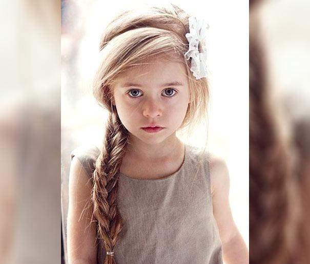Фото: Прическа для девочки