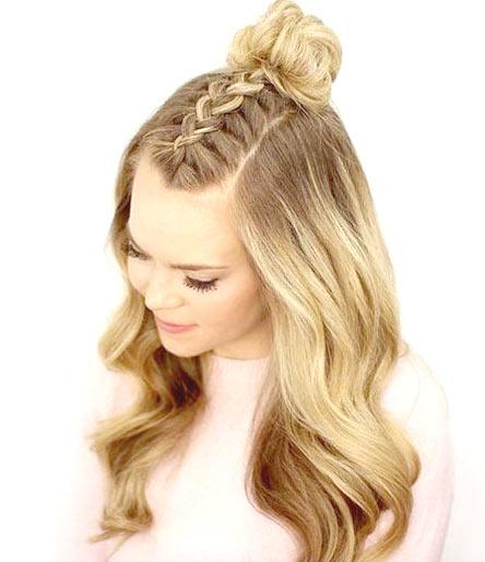 Фото: Прическа, коса, колосок
