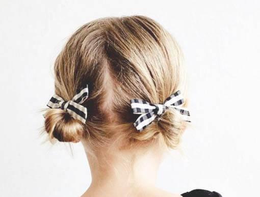 Фото прически девочке на средние волосы
