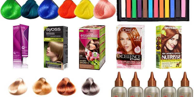 Лучшая краска для волос в домашних условиях